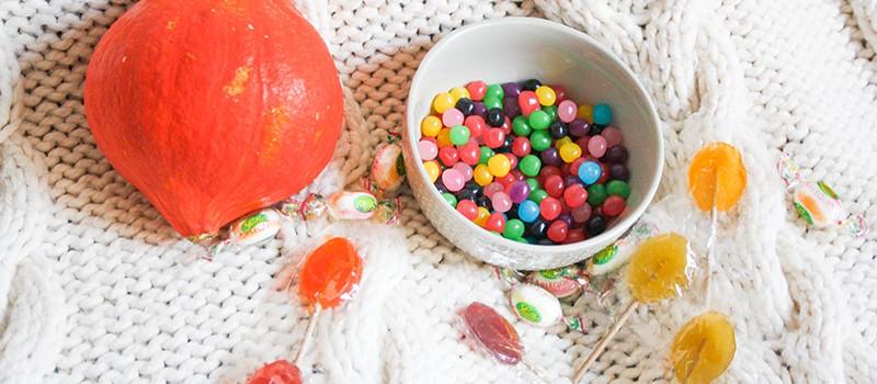 Sélection de bonbons vegan pour Halloween !