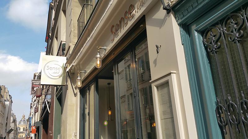 Sense eat, un bistrot gastro végétarien à Paris