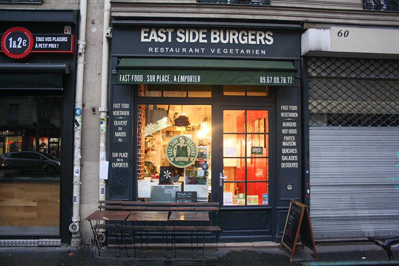 Mon avis sur East Side Burger : les burgers végé de Paris