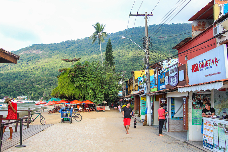 ilha grande centre ville