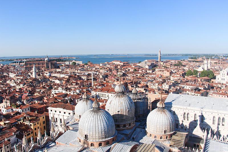 venise vue panoramique campanile de saint marc