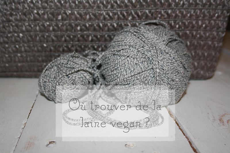 Laine vegan pour tricoter, où en trouver ?