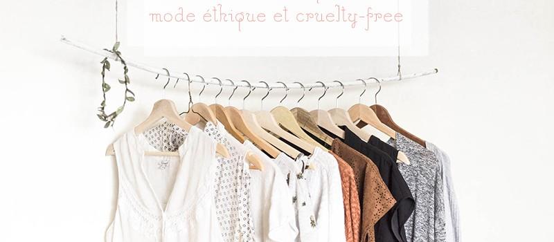 Ma liste de marques de mode éthiques, (vegan et cruelty-free)