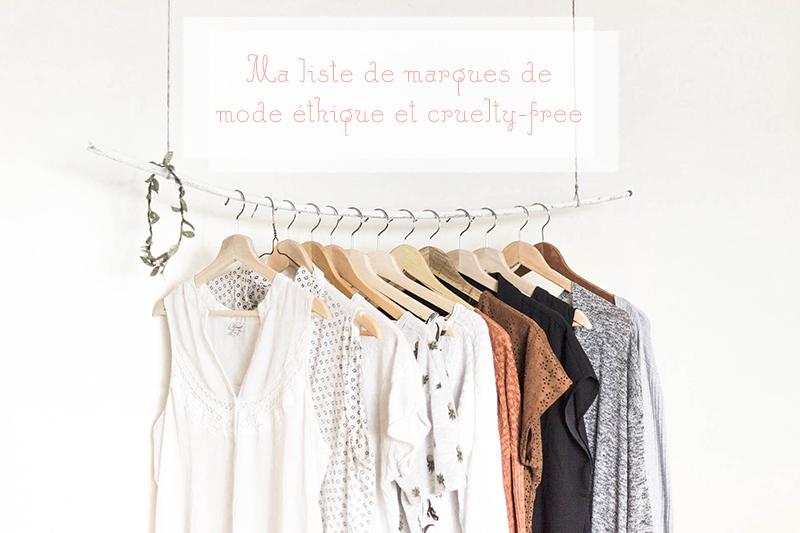 Liste de marques de mode éthiques et cruelty-free
