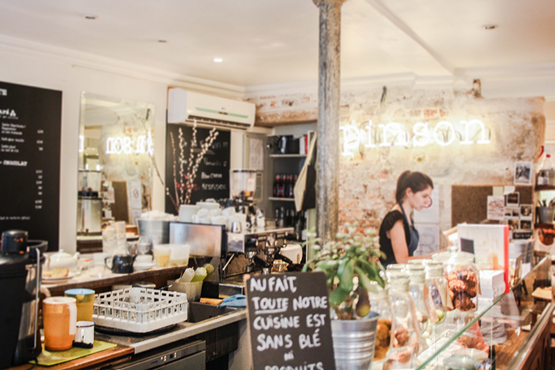 Salon de th vegan friendly paris le caf pinson la for Salon vegan paris
